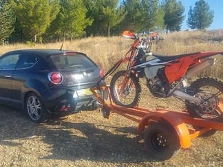 נגרר להובלת אופנוע