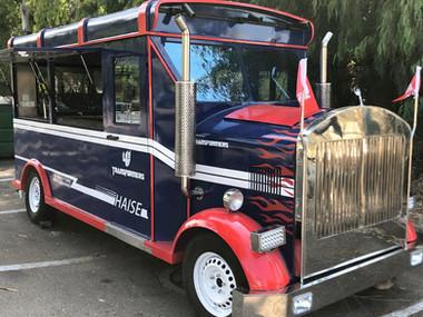 אוטו אוכל נגרר בעיצוב משאית