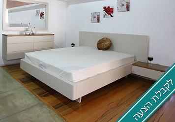 חדר שינה מלבנים