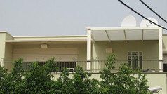 פרגולת אלומיניום בקומת גג