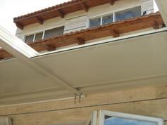 גג פתיחה חשמלי במצב פתוח