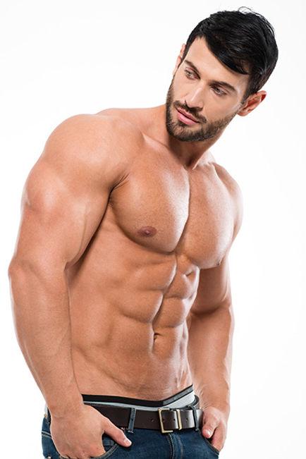 הסרת שיער מכל חלקי הגוף לגברים