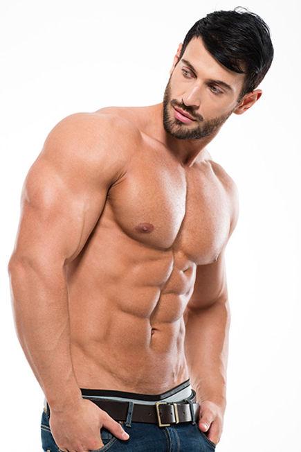 Удаление волос из всех частей тела для мужчин