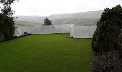 גדר אלומיניום לגינה