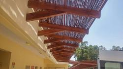בניית פרגולה במבנה ציבור בקריות