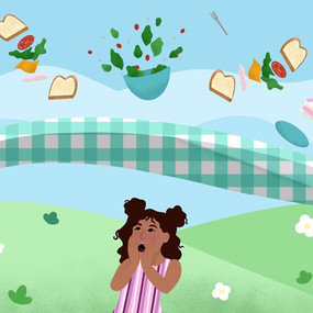 In a pickle picnic