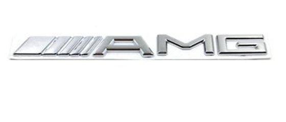 AMG original logo av ny type