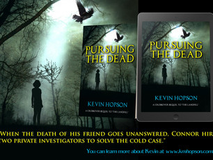 """Pursuing the Dead"" Free This Week On Amazon"
