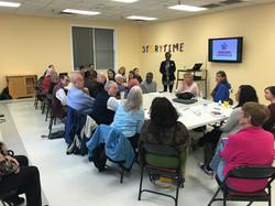 Workshop at Jeffersontown Library, April 24, 2018
