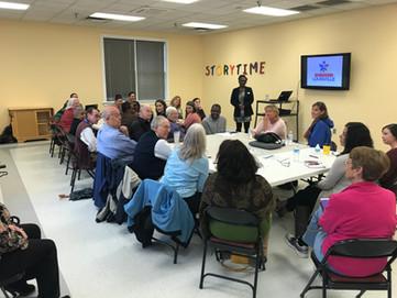 Workshop at Jeffersontown Library, April
