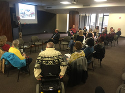 Workshop at Main Downtown Library, April 4, 2018