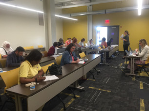 Workshop at Edison Center, May 9, 2018