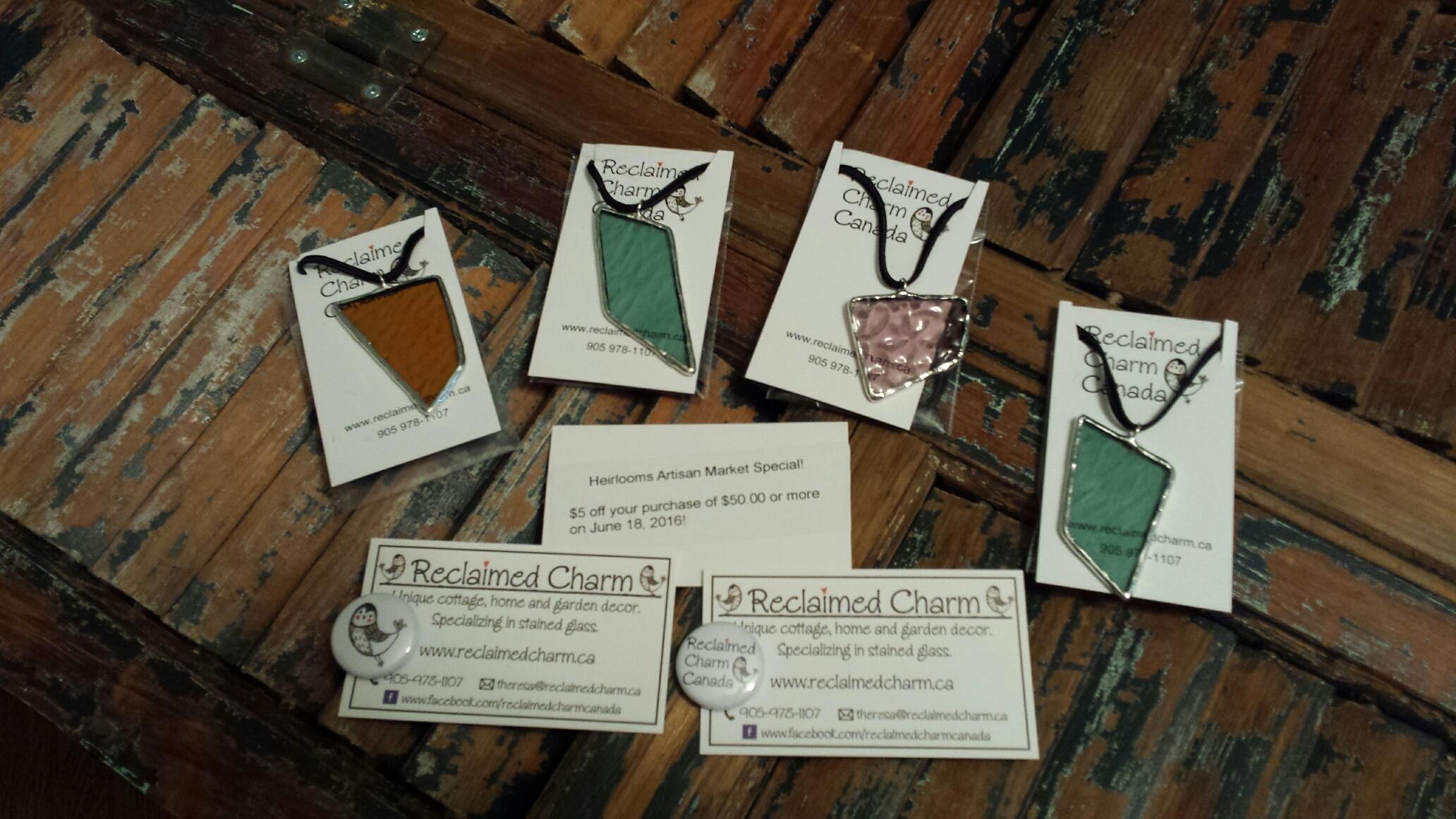packaged pendants