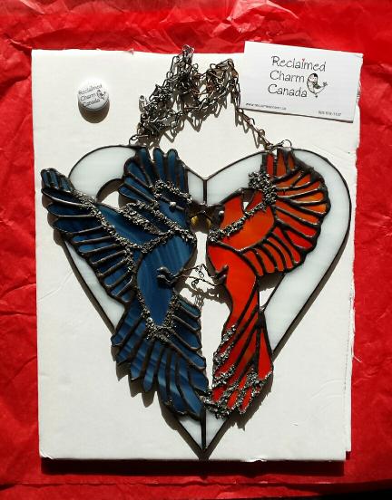 heart.bird tattoo