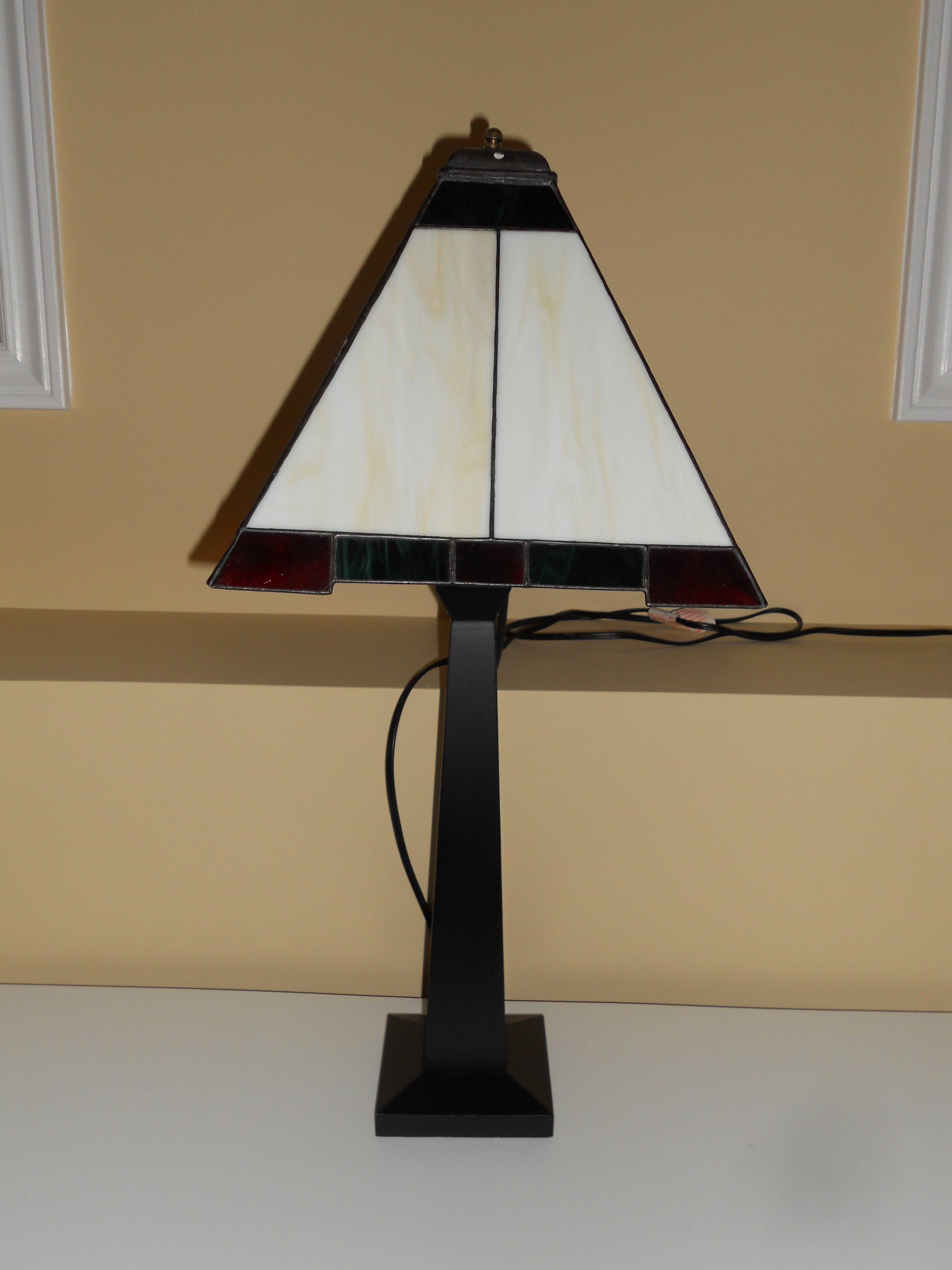 Reclaimed - Arts and Crafts style lamp