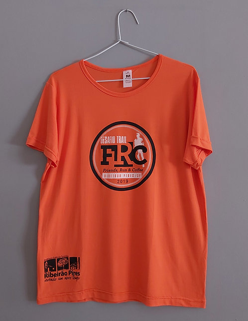 Camiseta Desafio Trail FRC Laranja
