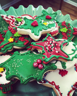 Cut-Outs for the Cookie Bar! #cookies #christmascookies #tistheseason #cutouts #cookiebar #xmas
