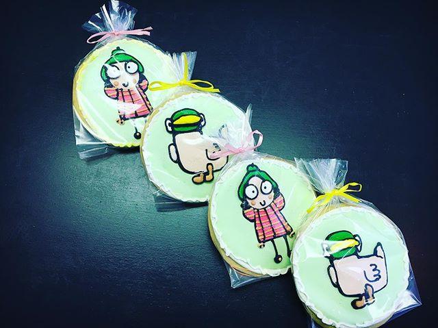 Sarah and Duck #cutouts #cutoutcookies #sarahandduck #sarahandduckcookies #bbc #sarahandduckfan #hap
