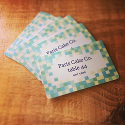 New Gift Cards are here! It's the most delicious gift to give! #tistheseason #gifts #giftcards #pari