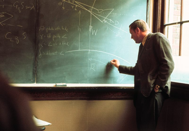 Armstrong teaching at UC