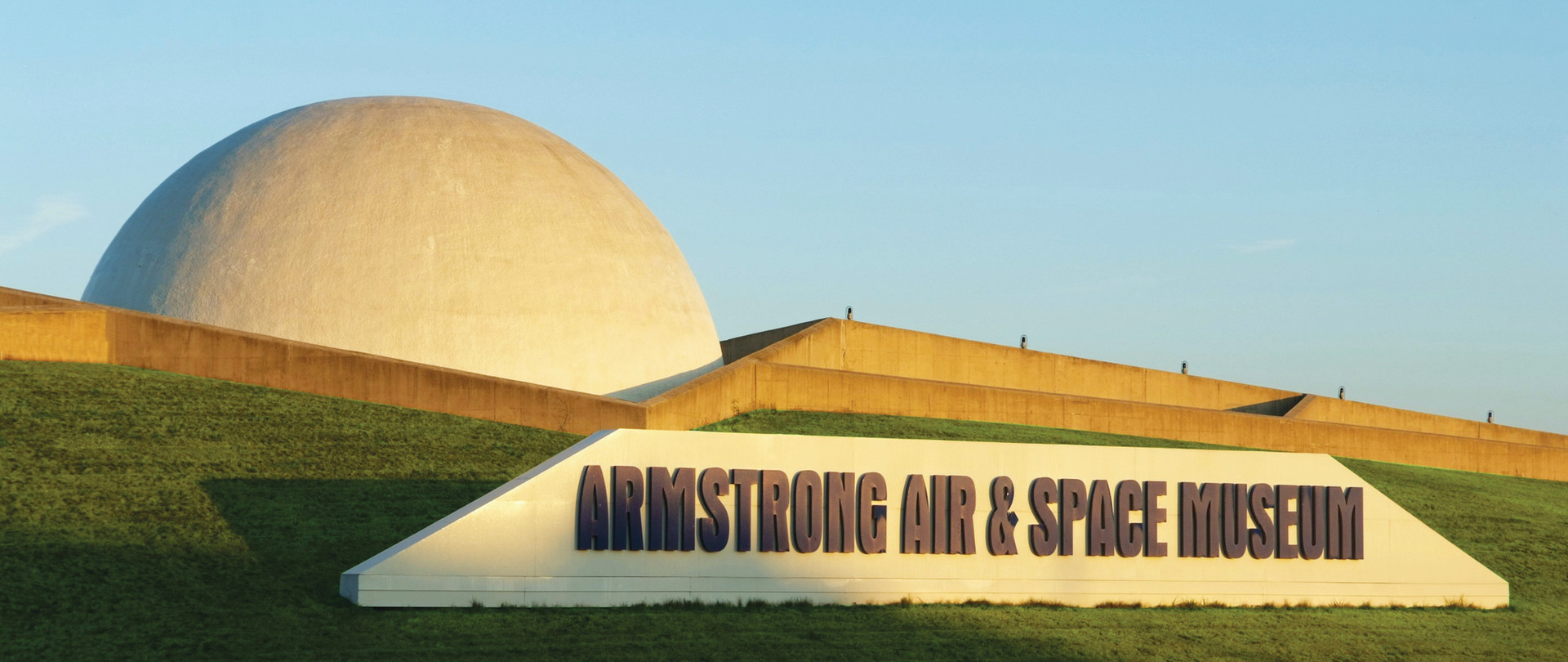 Armstrong Museum &  Sign