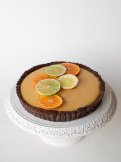 Tartelė su apelsinais