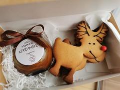 Imbieriniai sausainiai ir karamelė