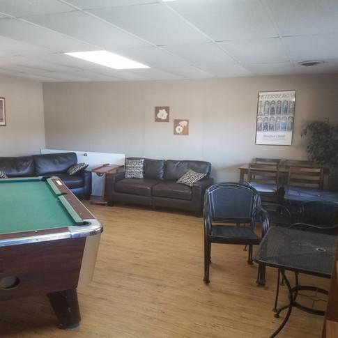 Comfortable Rec Room