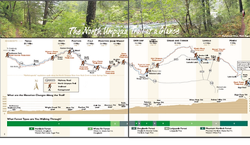 Pick your guide for any single day segment of the North Umpqua Trail