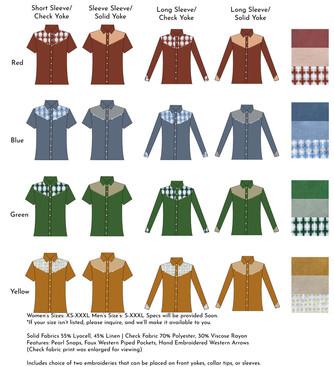 Shirt Options