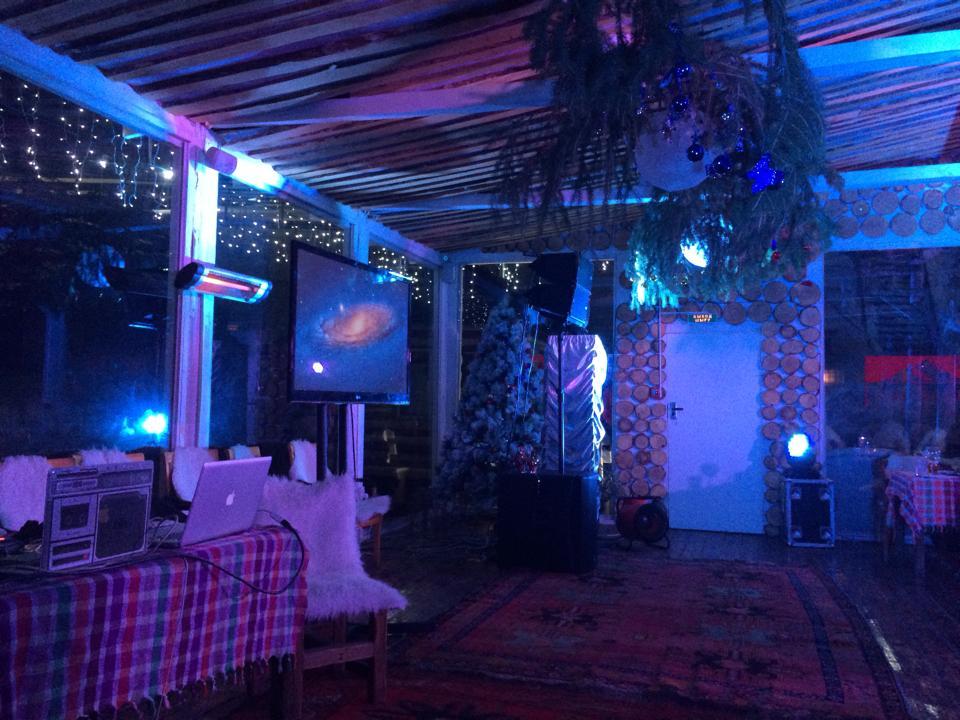 """Новый год в ресторане """"Сарай-Бар"""""""