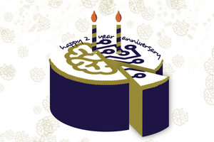 intellicents birthday cake