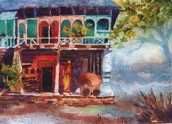 A Himalayan abode