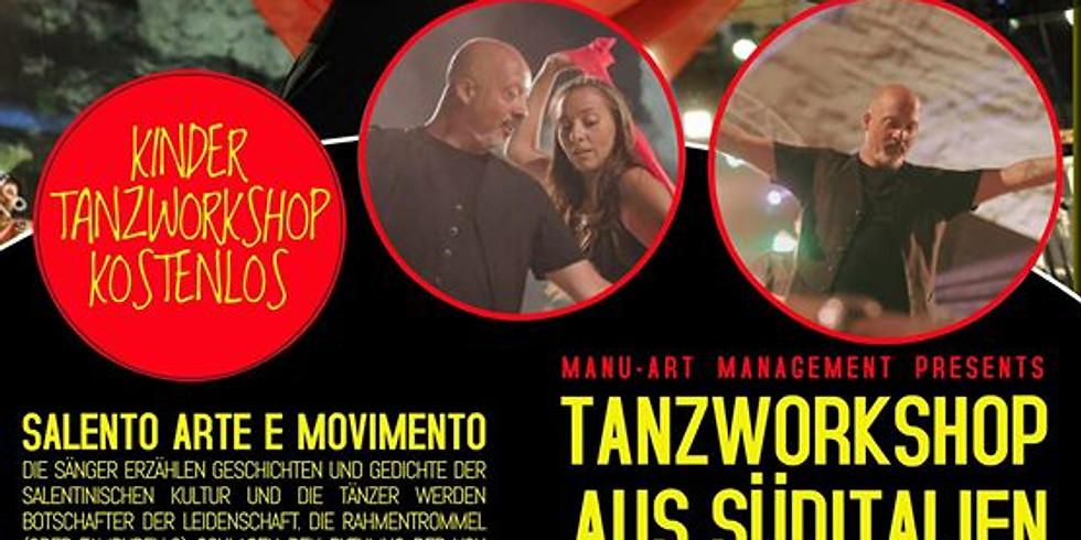 TANZWORKSHOP  WINTERTHUR / KIDS 14-14:45 GRATIS / ERWACHSENE 17-18 SFR. 30.-