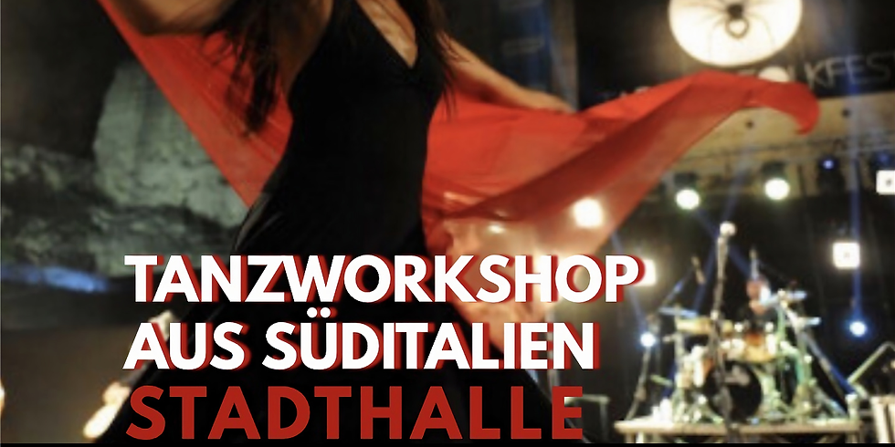 Tanzworkshop aus Süditalien mit Konzert der assemblea la notte della Taranta aus Melpignano