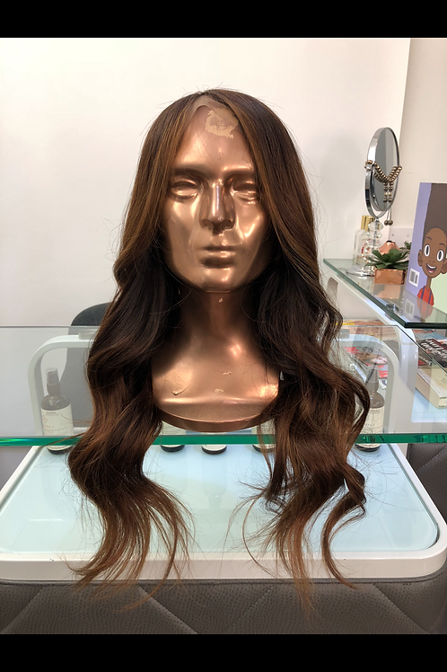 "Karen Custom Colored 16-18"" Lace closure Unit"