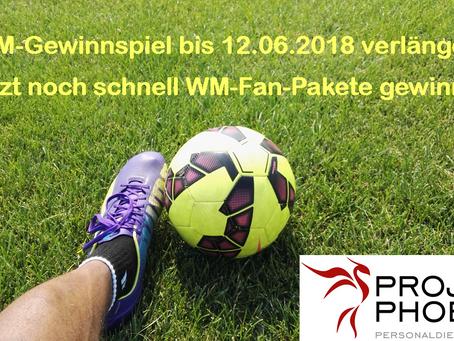 +++ Wir gehen in die VERLÄNGERUNG +++ WM-Gewinnspiel +++ Fan-Pakete +++