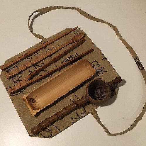 Bamboo Gongfu Tea Utensils Kit