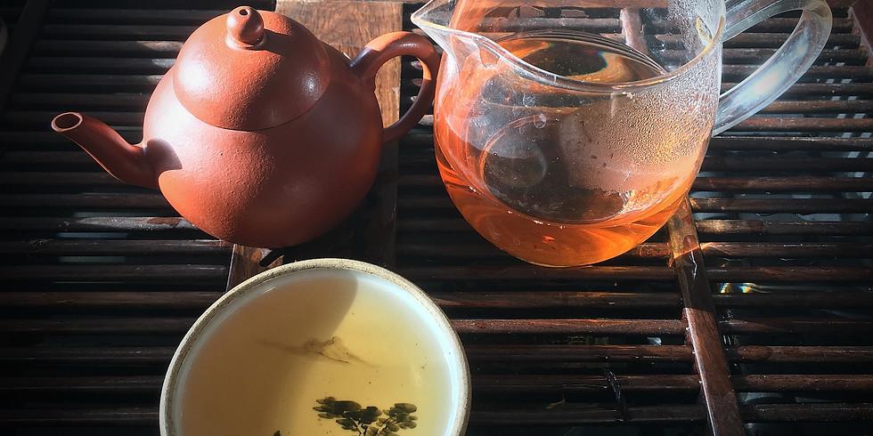 Virtual Chinese Oolong Tea Tasting