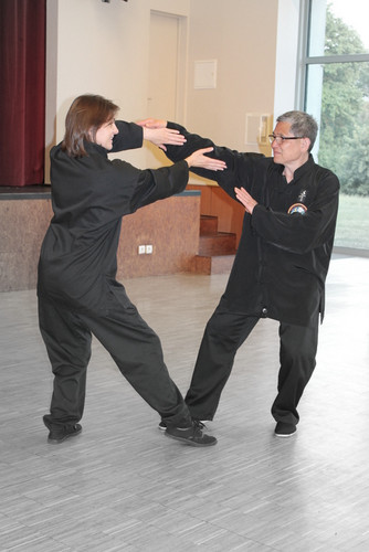Ghislaine Commault et Maître Trang Lê Cao