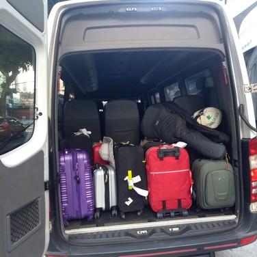 bagagem bem arruma