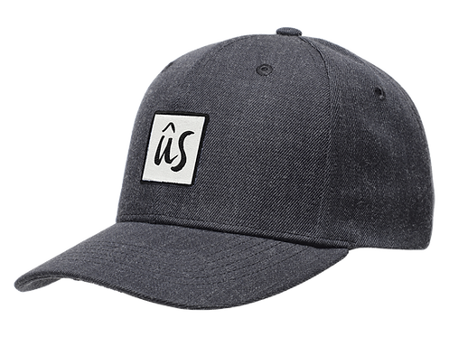 The Zubz Cap in Slate Grey by Ûs the Movement - Baseball Cap