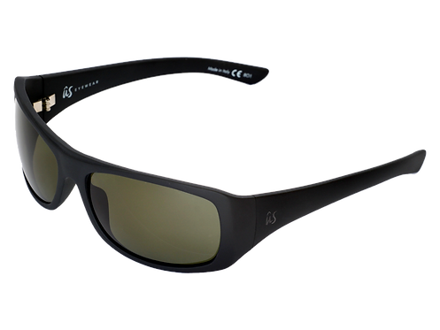 THE CARBO - Matte Black with Polarized Grey Lenses (Made in Italy)