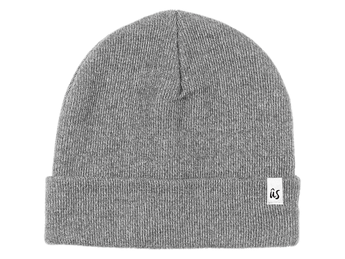 The Damicos Vibe Beanie in Granite Grey by Ûs the Movement
