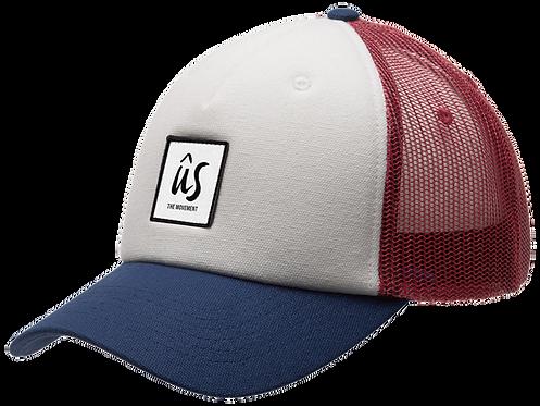 The Lippy Cap in multicolours by Ûs the Movement  - Trucker Cap