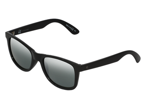 THE MATY - Gloss Black/Grey Silver Chrome (Made in Italy)