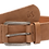 Thumbnail: THE NOWNOW - Genuine Leather Belt in Savannah Brown