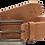 Thumbnail: THE GIBBSTA - Genuine Leather Belt in Savannah Brown