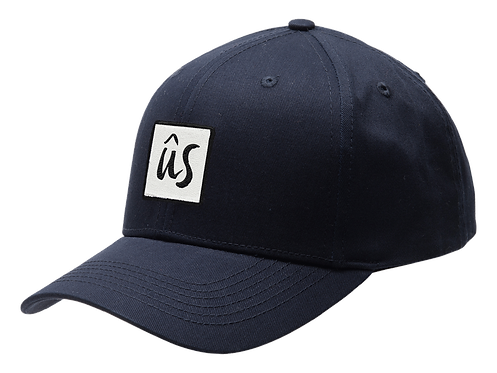 The Zubz Cap in Deep Ocean Blue by Ûs the Movement - Baseball Cap