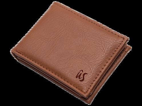 THE SAVAGE - Genuine Leather Wallet in Savannah Brown
